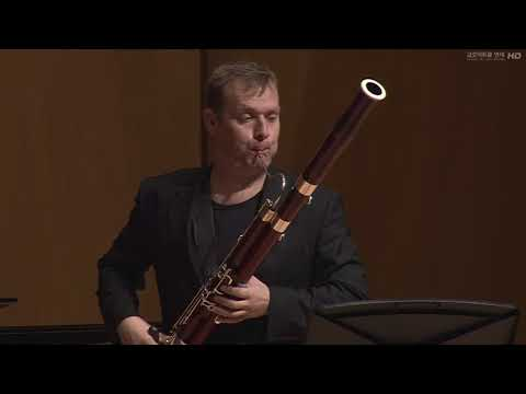 Roger Boutry - Interferences for bassoon and piano played by Matthias Racz