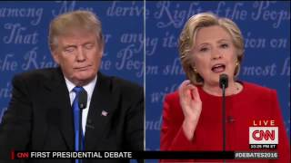 Trump actually claimed his temperament was better than Clinton