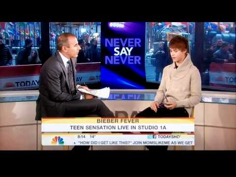 Justin Bieber - Today Show 2011