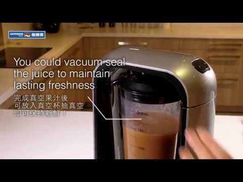 Anti-Oxidation Vacuum Blender VBR-108 Operation Instruction