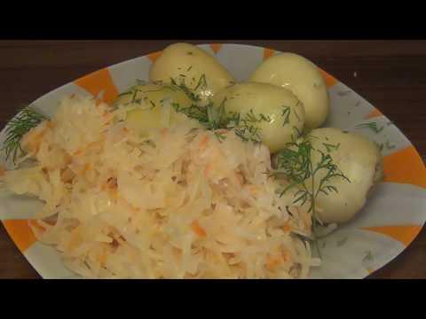 КВАШЕНАЯ КАПУСТА - это ПРОСТО! Проверенный рецепт квашения капусты!