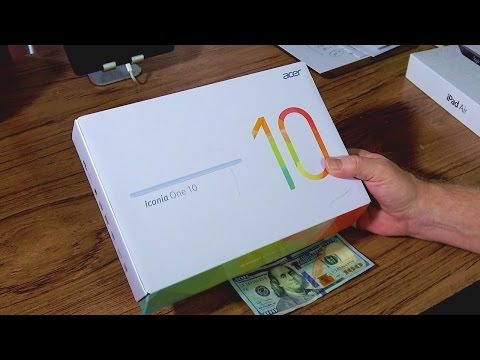 Acer Iconia One 10 Tablet Review