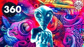 Psychedelic Summer MIND CHILL 360  (1 Hour Chill-Out Music and Art Video Mix))