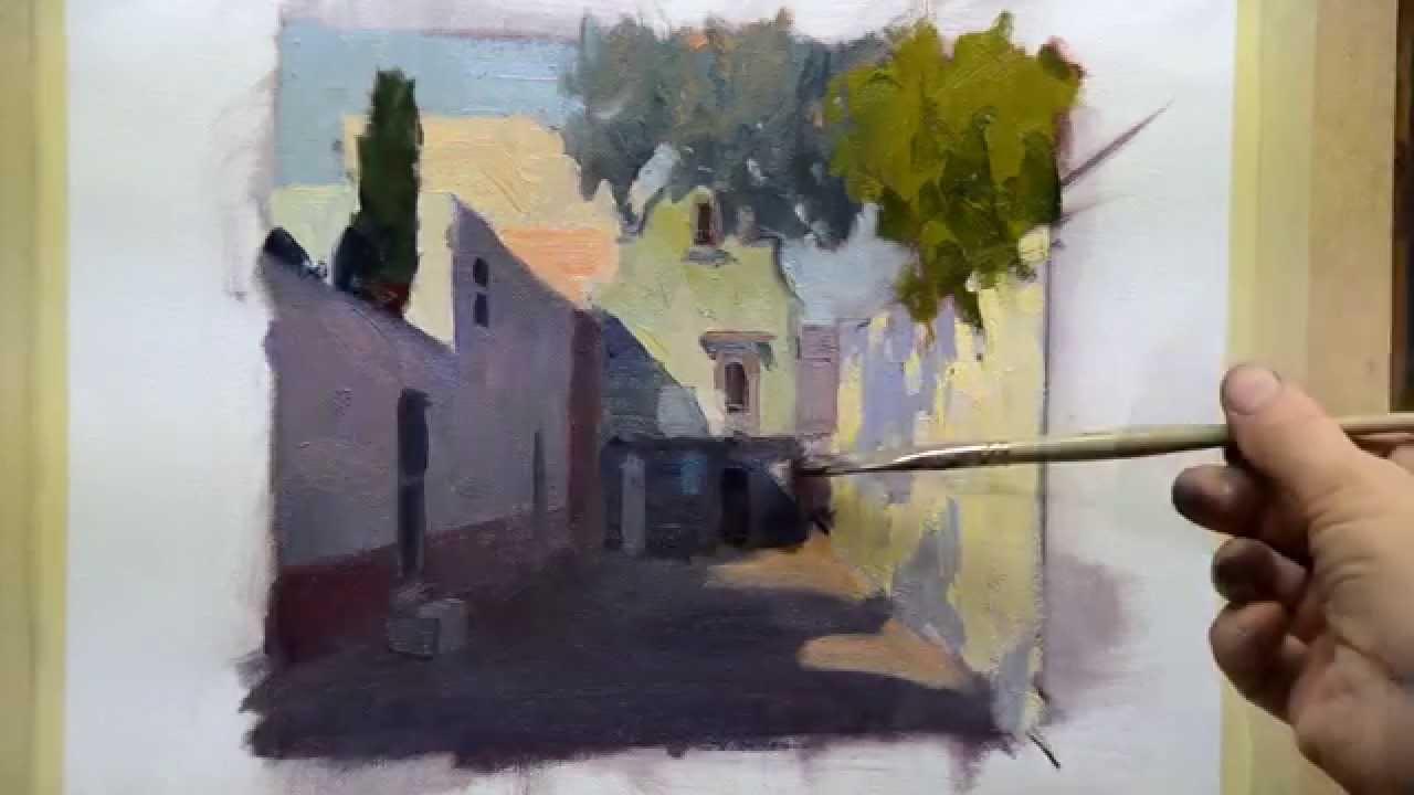 How To Paint Better Street Scenes Online Art Class YouTube