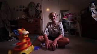 Freddie meets baby toy