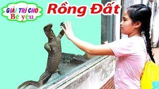 BÉ HUYỀN XEM KHU BÒ SÁT THẢO CẦM VIÊN|children watch the reptiles house🏠Giải trí cho Bé yêu