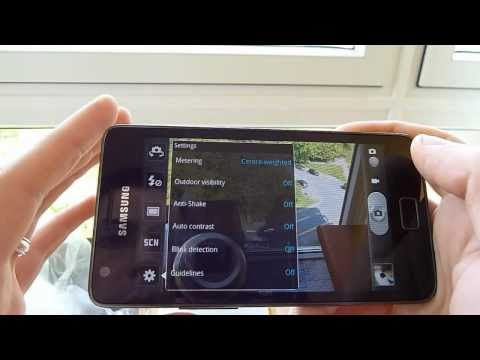 Samsung Galaxy S 2 Review - Using the camera
