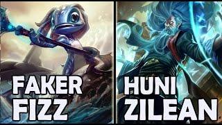 download lagu Faker Vs Huni - Fizz Vs Zilean - Rank gratis