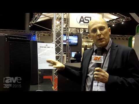 ISE 2015: Proel Describes the Axiom Highlights the AX2010A Line Array
