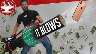 $10,000 LEAFBLOWER VS IPHONE XS MAX