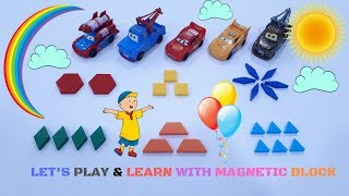 Learn Colors for Kids | Magnetic Blocks Educational Toys for Kids | GN Toys Channel