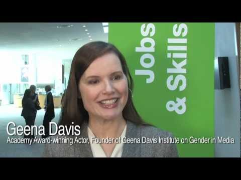 Geena Davis on the U.S. dream team working for women s empowerment