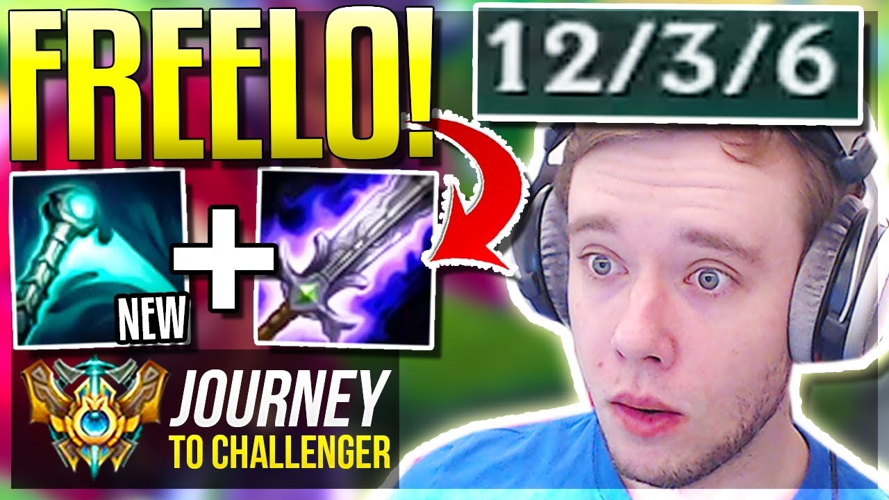 THIS BUILD IS SO FREELO ON THIS CHAMPION!!!!!! NEW BUILD - Journey To Challenger | League of Legends
