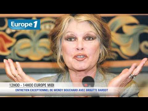 Europe 1 Midi - L'interview de Brigitte Bardot