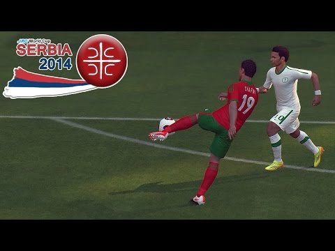Morocco vs. Saudi Arabia | jmc WC Serbia 2014 | PES 2014