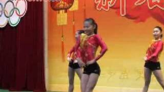 2009 0210 China WAG Team dance