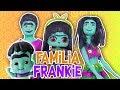 Familia FRANKIE 🧟♂️ SUPER MONSTRUOS 🌙 Barbie, Ken y Muñecas LOL -Transformaciones Fantásticas