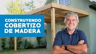 ¿Cómo construir cobertizo de madera?