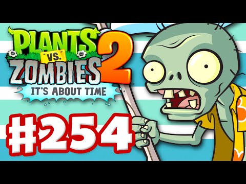 Plants vs. Zombies 2: Its About Time Gameplay Walkthrough Part 254 Big Wave Beach Pinata Party