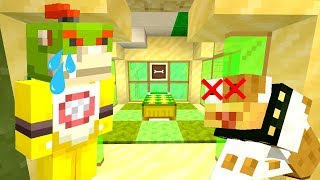 BOWSER JR'S DOG IS DYING... *EMOTIONAL..* | Nintendo Fun House | Minecraft [362]