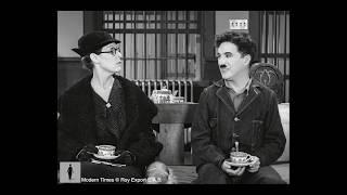 Charlie Chaplin -  Stomach rumbling scene - Modern Times