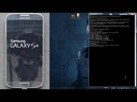 How To Root the Samsung Galaxy S4!