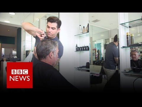 London hairdresser who offended Kim Jong-un - BBC News