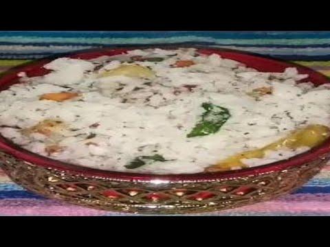 కొబ్బరి అన్నం తెలుగులో || #Coconut Rice || #instantrice (within 2min) || #Coconutfriedrice #madhuri