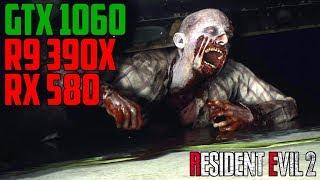 Resident Evil 2 - GTX 1060 | R9 390X | RX 580