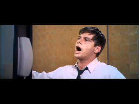 "Robert Morse sings ""I Believe In You"""