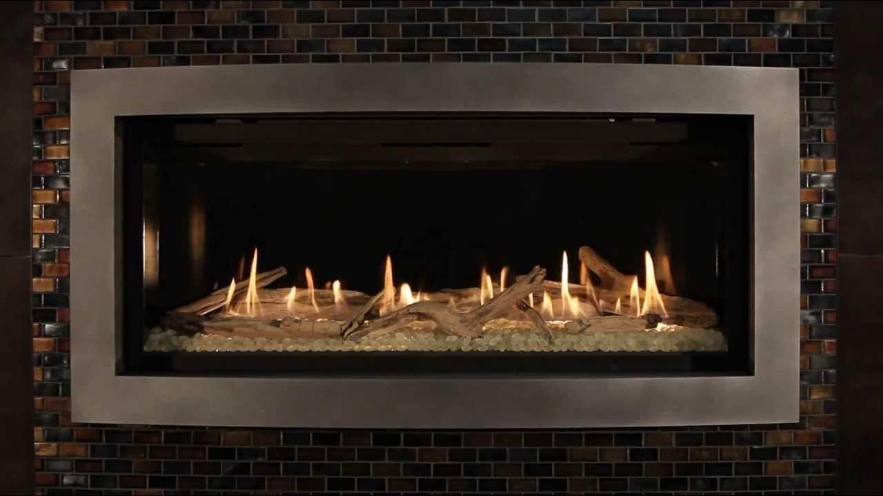 Kozy Heat Linear Direct Vent Fireplace Slayton Burn