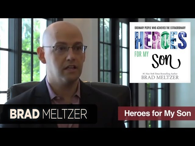 "Brad Meltzer Discusses ""Heroes for My Son"""