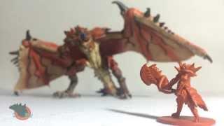 Revoltech Monster Hunter Rathalos Liolaeus Review
