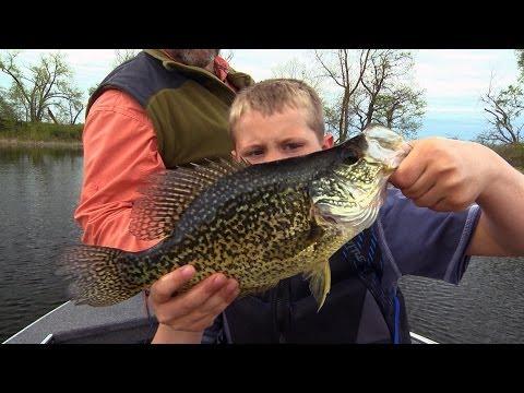 Babe Winkelman's Good Fishing - Crappies With Kids 2014 Ep. 13