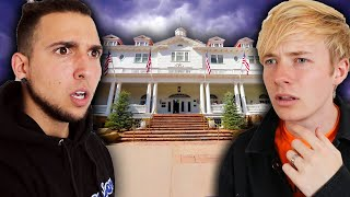 Staying OVERNIGHT In Haunted Stanley Hotel