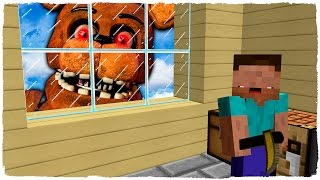 👉 NOOB VS ANIMATRÓNICO: LA PIZZERÍA DE FREDDY FNAF MINECRAFT TROLL + ROLEPLAY