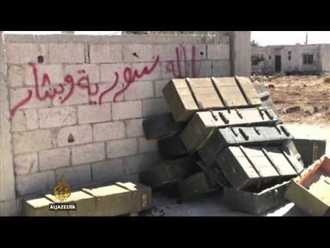 Syria rebels advancing near Golan Heights