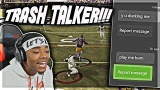 """THIS IS PERSONAL I NEED REVENGE"" - MADDEN 19 TRASH TALK GAME"