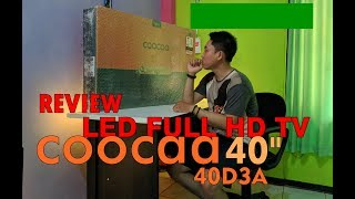 """REVIEW LED FULL HD TV COOCAA 40"""" 40D3A"""