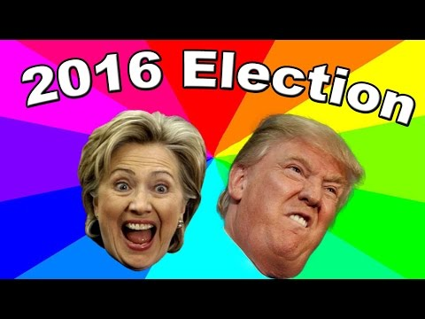 The best memes of the 2016 U.S. Presidential Election - Donald Trump And Hillary Clinton