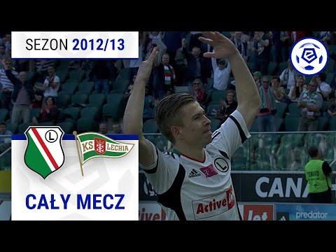 Legia Warszawa - Lechia Gdańsk [1. Połowa] Sezon 2012/13 Kolejka 25