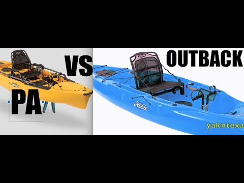 REVIEW-  HOBIE OUTBACK vs HOBIE PRO ANGLER - kayak fishing