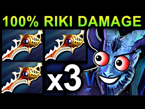 MONSTER RIKI DOTA 2 PATCH 7.06 NEW META PRO GAMEPLAY