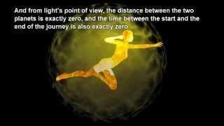 At the speed of light, what would you see?