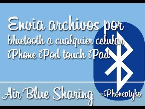 Air blue Sharing - Bluetooth liberado para enviar archivos a cualquier celular (iOS 7x)