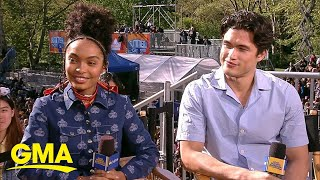 Yara Shahidi and Charles Melton open up about 'The Sun is Also a Star' | GMA