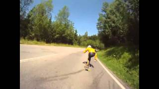 Stokeholm goes to France: Longboarding
