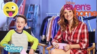 Raven's Home | Challenge ft Chelsea and Levi - Who Said That?! | Official Disney Channel UK