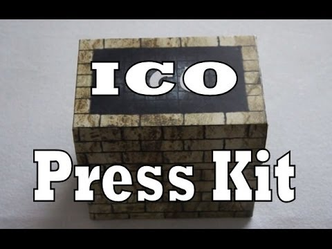 Ico Press Kit / Media Kit Unboxing & Review (Playstation 2)