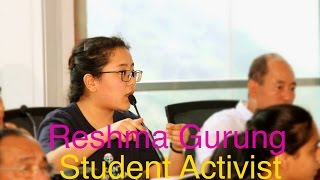 A brilliant, motivated and sociable Nepalse girl : Reshma Gurung
